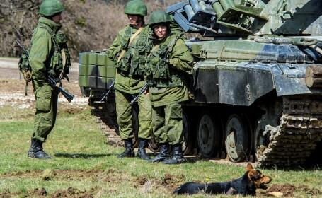 Criza in Ucraina. Mii de militari rusi sunt stationati la frontiera dintre Transnistria si Ucraina