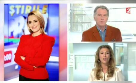Interviu-portret cu Andreea Esca la postul de televiziune France 2: \