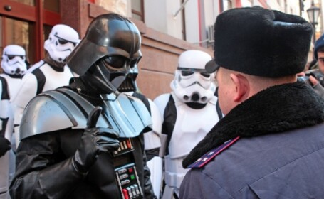 Darth Vader in Ucraina