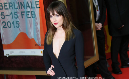 Dakota Johnson la festivalul Ursul de Aur