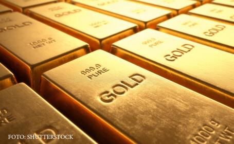 Pretul aurului, in scadere, dupa anuntarea acordului cu Grecia