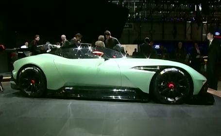 Aston Martin a facut senzatie la salonul de la Geneva, cu modelul Vulcan. Cum arata bijuteria demna de James Bond