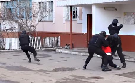 actiune politisti Moldova