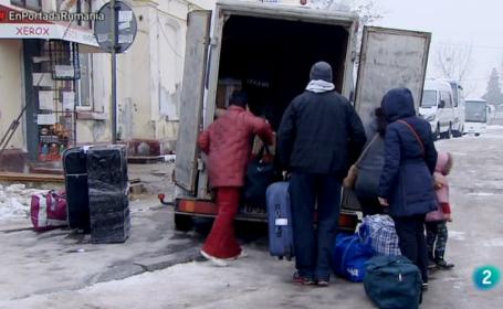 Cum sunt prezentati emigrantii romani intorsi acasa intr-un reportaj al televiziunii spaniole TVE. VIDEO INTEGRAL
