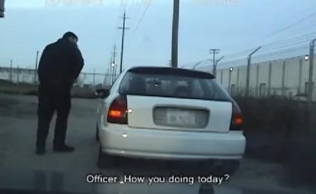 SUA politist sofer