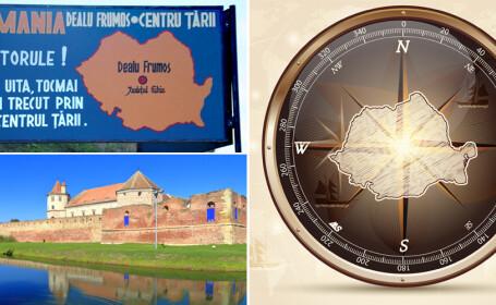 Unde se afla de fapt CENTRUL Romaniei. Greseala pe care toata lumea o facea de zeci de ani