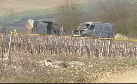 Jaf spectaculos in Franta. 15 persoane au blocat doua masini pentru transportul valorilor si au fugit cu o prada uriasa