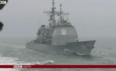 NATO desfasoara exercitii militare in Marea Neagra. \