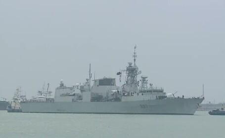 Un grup de 6 nave de lupta din tarile NATO au ajuns in Portul Constanta. Exercitii comune ale militarilor romani si americani