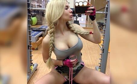 Sotia unui politician din Harkov, vedeta pe retelele de socializare. Imaginile postate de aceasta. FOTO