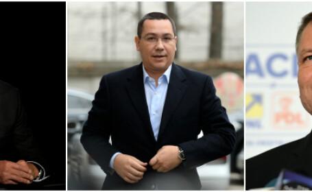 Traian Basescu, Victor Ponta, Klaus Iohannis
