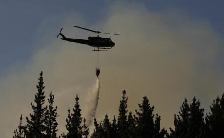 Incendiu in Chile