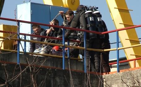 Trupul batranului de 80 de ani disparut in apele canalului din comuna Gilau, a fost recuperate