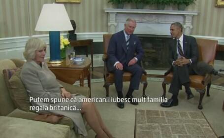 Intalnirea cu Printul Charles, prilej de glume pentru Obama. SUA si Marea Britanie si-au intarit \