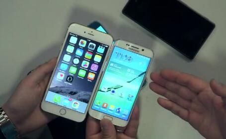 Samsung Galaxy S6 Edge, iPhone 6