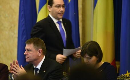Klaus Iohannis, Victor Ponta, Codruta Kovesi