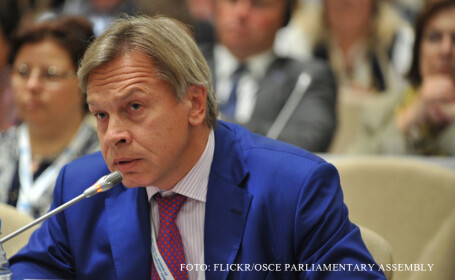 Un lider politic rus ataca Marea Britanie: \