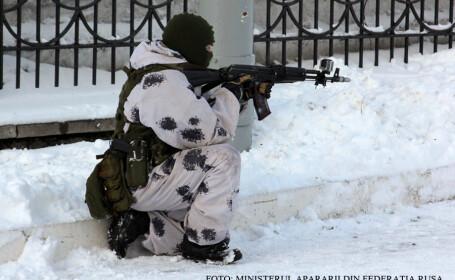 Savantii rusi sustin ca pot obtine soldati invizibili. VIDEO. Cum arata materialul care te face nevazut