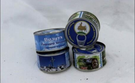Oamenii de afaceri din Rusia au scos la vanzare aer din Siberia la conserva. Care este secretul acestuia