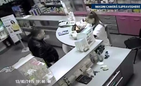 A rugat farmacista sa ii schimbe 500 de lei, iar intr-o clipa de neatentie a femeii, barbatul a lasat-o fara toti banii