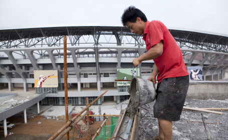 China, ciment