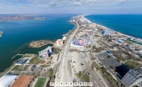 Cum arata statiunea Mamaia inaintea deschiderii sezonului estival. Panorama 360 de grade