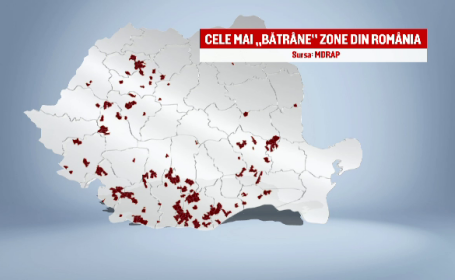 harta zone batrane Romania