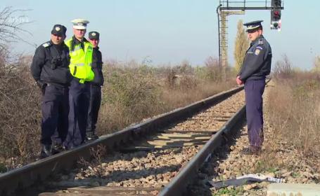 1.000 de oameni, blocati cateva ore intr-un tren, langa Chiajna, dupa un accident in care a murit o femeie