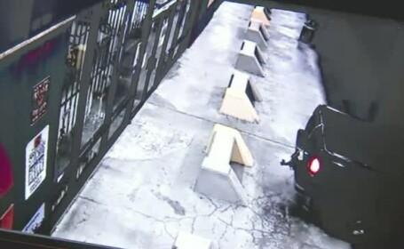Imagini incredibile cu jaful care a avut loc la un magazin de arme. La cateva ore insa, hotii au avut parte de o surpriza