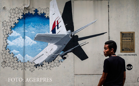 grafitti MH370