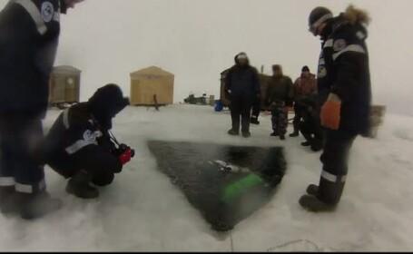 Recordul stabilit de doi scafandri, in Marea Alba din Rusia. La ce adancime au reusit sa coboare