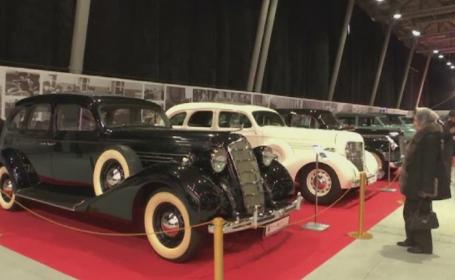Expozitie deosebita in Moscova, cu vehicule rare folosite de fosti lideri rusi. Cum arata limuzina lui Vladimir Putin