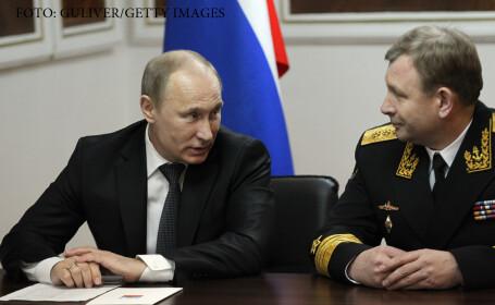 Seful flotei militare ruse a demisionat, \