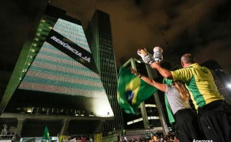 Scandal urias in Brazilia. Fostul presedinte, acuzat de coruptie, a fost numit in Guvern pentru a-l proteja de justitie