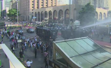 Brazilia, in haos politic. Milioane de oameni au protestat in strada impotriva coruptiei generalizate