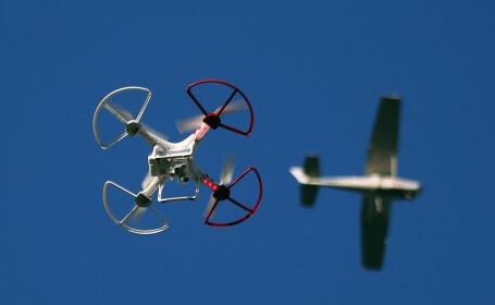 drona avion