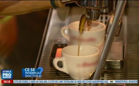 O ceasca de cafea dimineata si una seara. Avantajele unui consum moderat in organism. VIDEO