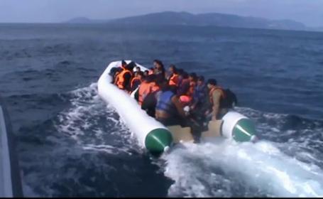 Migrantii NU pot ajunge in Romania, cu barca, pe Marea Neagra. Ce a discutat Klaus Iohannis cu omologul turc Recep Erdogan