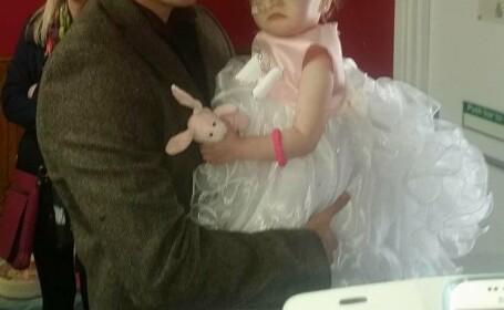 Un tata indeplineste cel mai mare vis avut pentru fiica lui atunci cand afla ca fetita mai are doar cateva zile de viata