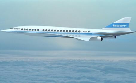 Avionul supersonic cu care vei putea ajunge de la New York la Londra in trei ore si jumatate. Cat va costa un bilet