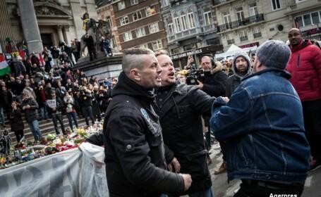 Opt suspecti in cazul atentatului din Bruxelles, vanati in toata Europa. Incidente violente si gesturi naziste in Belgia