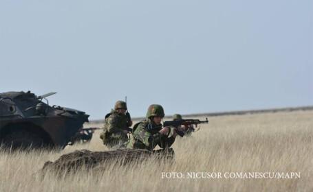 exercitiu militar smardan