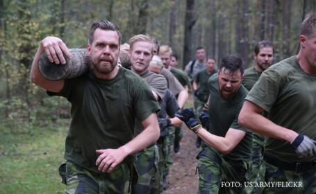 antrenament cadeti suedezi