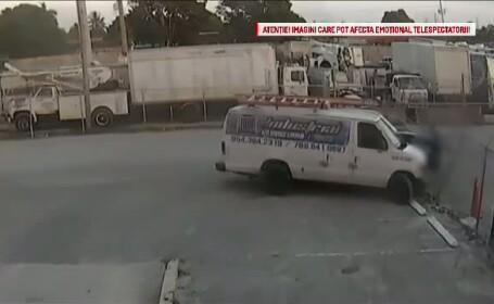 A incercat sa isi loveasca fostul sef cu o camioneta. Motivul pentru care barbatul din Florida a recurs la acest gest