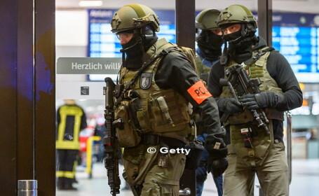 Atac cu toporul in gara din Dusseldorf, soldat cu 9 raniti. Marturiile calatorilor: \