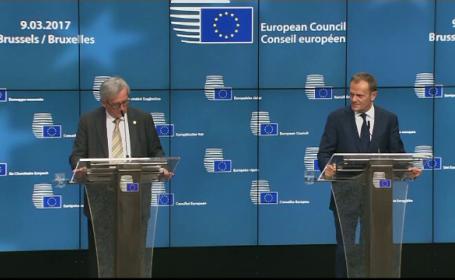 Polonia avertizeaza ca realegerea lui Tusk ca presedinte al Consiliului European este un pas catre dezintegrarea UE