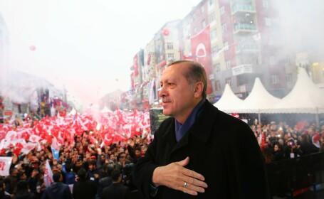 Erdogan miting
