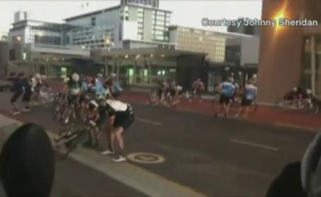 Cea mai mare cursa de ciclism, anulata din cauza vantului. 35.000 de oameni au simtit viteza rafalelor in Africa de Sud