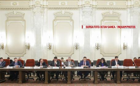 Comisia juridica a Senatului reia miercuri dezbaterile pe legea gratierii