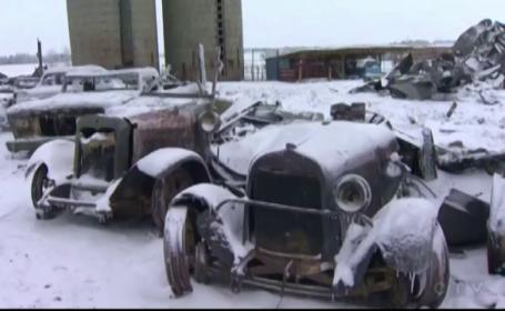 40 de masini de epoca neasigurate, in valoare de 3 milioane de dolari, au ars intr-un incendiu. \